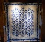 Frances' blue piece